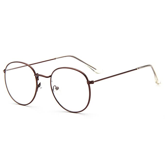 a0beef0fa8960 Juleya Gafas de lentes transparentes gafas de lectura decoración Geek de  moda gafas Nerd retro para mujeres Unisexo  Amazon.es  Ropa y accesorios