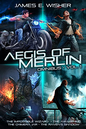 40c359f66032a The Aegis of Merlin Omnibus Vol 1: Books 1-4 (The Aegis of Merlin  Collections)
