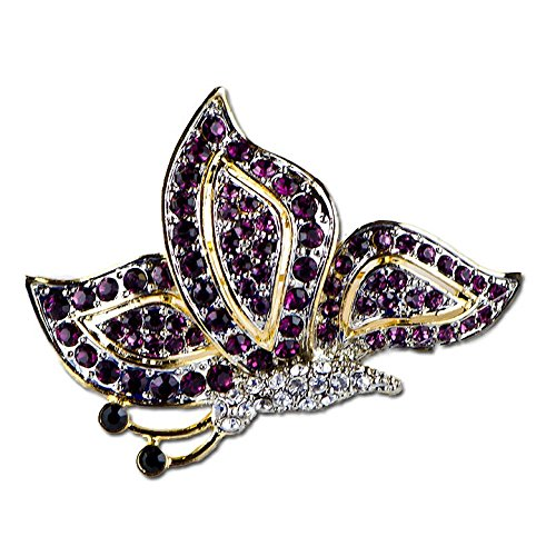 Ruby Butterfly Russian Brooch Butterfly Ruby Brooch