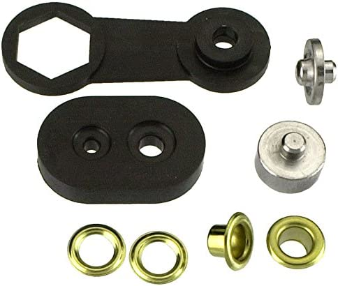 CONNEX DY270761 8.5mm Brass Eyes Rivets