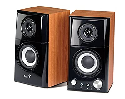 Genius Hi-Fi Wood Speaker for Computers (SP-HF500A)