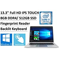 2017 Lenovo Ideapad 710S Plus 13.3 Full HD IPS Touchscreen Premium Business Laptop, Intel Dual-Core i7-7500U up to 3.5GHz, 8GB DDR4, 512GB SSD, Backlit Keyboard, Fingerprint Reader, 802.11ac, Win10