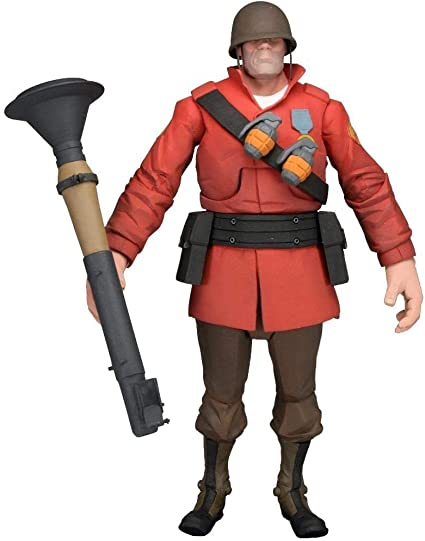 Amazon Com Neca Team Fortress 2 The Soldier Action Figure 7