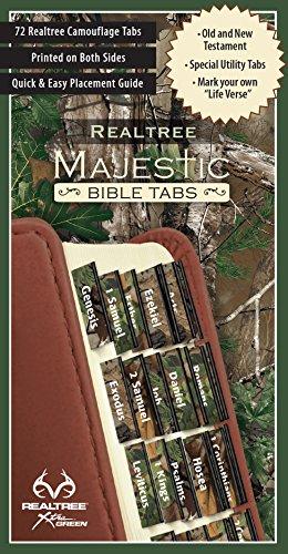 REALTREE™ Majestic Bible Tabs - Camo - Book Bible Tab