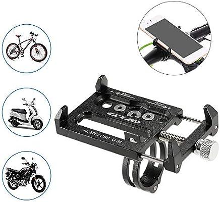 Docooler Aleación de Aluminio de la Bicicleta Todos los Fines de Soporte para Teléfono Handbar Gancho para Base de Soporte de Montaje: Amazon.es: Deportes y aire libre
