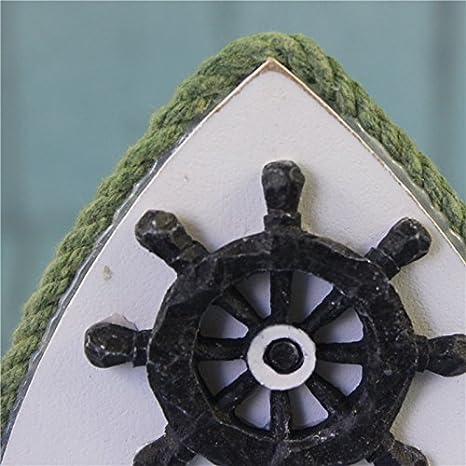 Ruder Homyl Maritime Leuchtturm Fotorahmen Fotohalter Bilderrahmen Rahmen Tisch Deko Holz 19x6x18.5cm