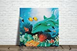Sea life Ceramic Tile 4.25 Inches Reproducction #7