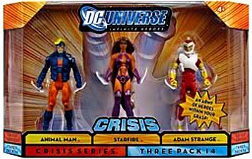 DC Universise Infinite Heroes with Animal Man, Starfire, Adam Strange ()