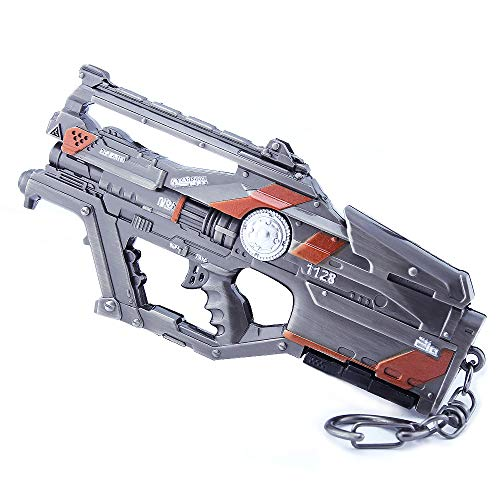 APEX Legends Games 1/6 Metal L-Star EMG Machine Gun Keychain Weapons Model Action Figure Arts Toys Collection Gift