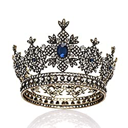 Round Medieval Baroque Crown for Pageant