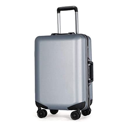 dbb014fb6c40 Amazon.com: BAG Frosted Aluminum Frame Trolley case, Student pc ...