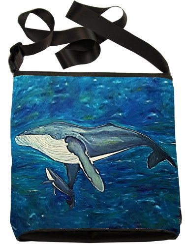 Conservation Cross How Wildlife From Wearable Support Body Elusive Original Art Whale Vegan Intoner Paintings Read Bag Large My g5U7qBwnn