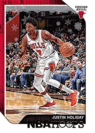 wholesale dealer 7d625 c7f9b Amazon.com: 2018-19 Panini NBA Hoops Winter/Holiday ...