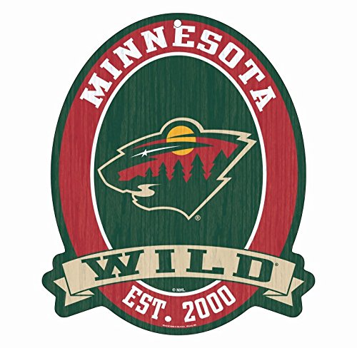 Minnesota Sign Vikings Street - Minnesota Wild Wood Street Sign 11X13
