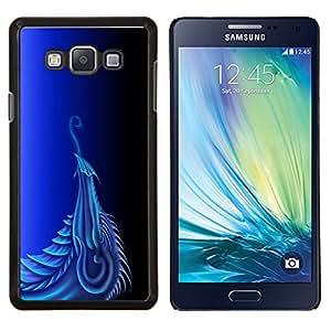 """Be-Star Único Patrón Plástico Duro Fundas Cover Cubre Hard Case Cover Para Samsung Galaxy A7 / SM-A700 ( Dragón azul"""" )"""