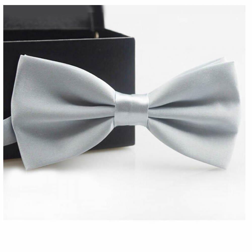GOOTRADES Classic Men's Butterfly Bow Tie Groom Tuxedo Necktie Wedding Adjustable (Navy blue)