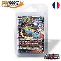 Coffret PKBoost GX : Engloutyran GX SL4 Invasion Carmin 210 PV 63a/111 - Booster de 12 cartes Pokémon françaises