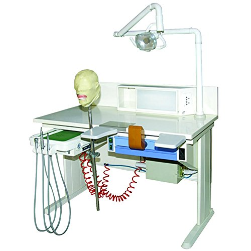 Teaching Use Dental Workstation Single Person Laboratory Equipments Built-in-Vacuum