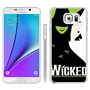 Hot Sale Samsung Galaxy Note 5 Case ,Wicked White Samsung Galaxy Note 5 Cover Unique And Beautiful Designed Phone Case