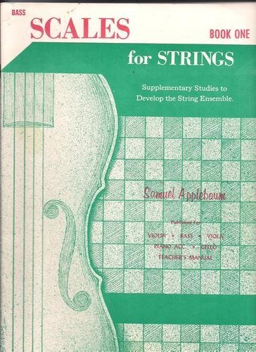 Scales For Strings - Bass (Book One)