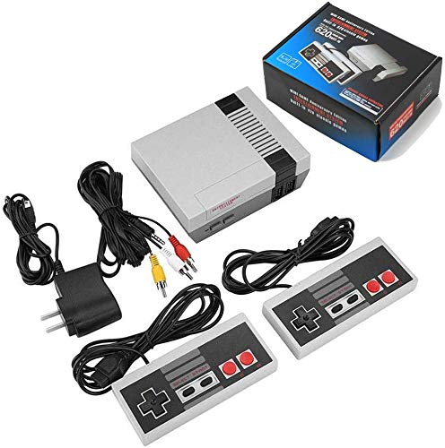 NES Game Console Classic Edition Built-in 620 Games+2 Controllers 8 Bit PAL&NTSC For nes mini P/N