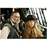 Pirates of the Caribbean: Dead Man's Chest 8 x 10 Photo Joshamee Gibbs & Elizabeth Swann kn