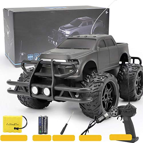 Cinhent Toys, Electric RC Car Off Road High Speed Remote Control Climbing Play Vehicles Model Color Flash, 41 x 21 x 18 CM, 15 Km/H, 900mAh High - Capacity Driving Kids Adults Favour Gifts (A) (Off Buggy Road Gas)
