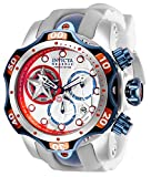 Watches : Invicta Men's Marvel Stainless Steel Quartz Watch with Silicone Strap, White, 26 (Model: 27040)