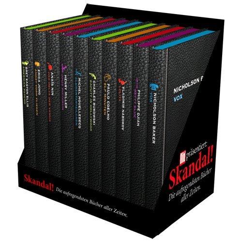BILD Skandal Edition, Skandal - die aufregendsten Bücher aller Zeiten; Skandal Box