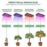 FAMURS 2000W LED Grow Light Full Spectrum Triple