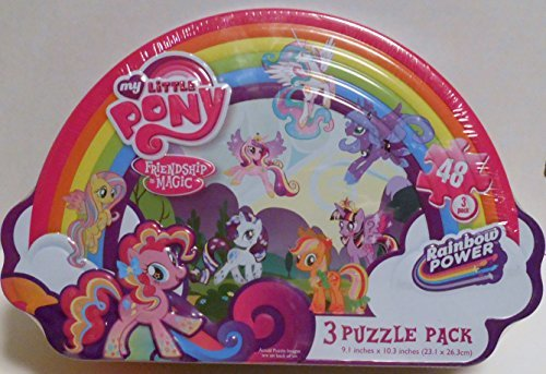 Girls Shaped Puzzle Tin-My Little Pony, Model: , Toys & Play
