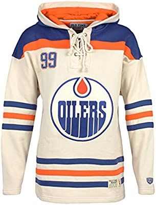 ... purchase old time hockey nhl edmonton oilers wayne gretzky mens player  lacer name number hoodie xx 0de7ced20