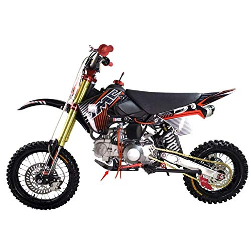 JCMOTO Skid Plate Guard Protector for Honda XR50 CRF50 XR 50 CRF SP07 Pit Dirt Bike 70cc 110cc 125cc (BLACK) by JCMOTO (Image #4)
