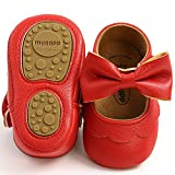 LAFEGEN Baby Girls Mary Jane Flats with Bownot Non