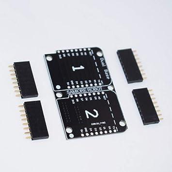Blindaje Doble Base Doble para Tarjeta D1 Mini NodeMCU ...