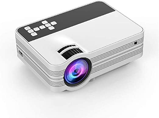 MYYDD Proyector, Mini teléfono proyector portátil TV proyector ...