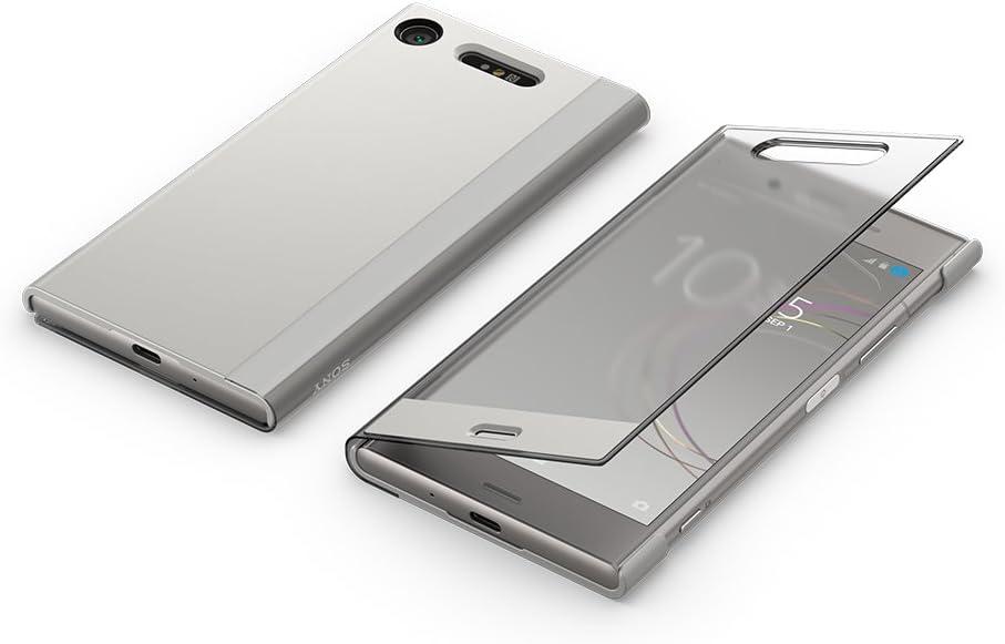 Sony 1309-5686 Funda t/áctil para Xperia XZ1 Color Negro