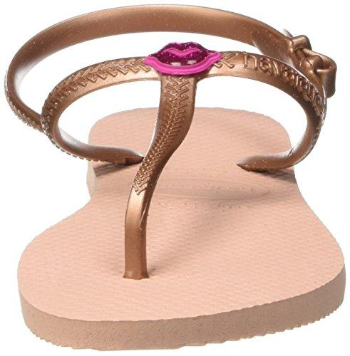 Havaianas Mädchen Kids Freedom Riemchensandalen Pink (Ballet Rose) ...
