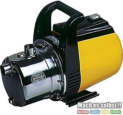 Bomba de jardín con bomba de acero inoxidable cabeza 1 S: Amazon.es: Bricolaje y herramientas
