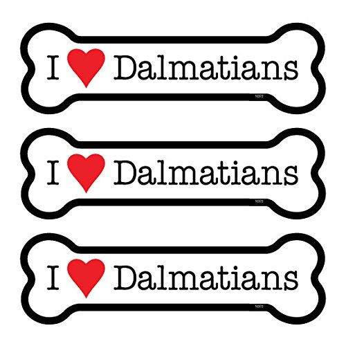 SJT ENTERPRISES, INC. Dalmatians 3-Pack of 2 x