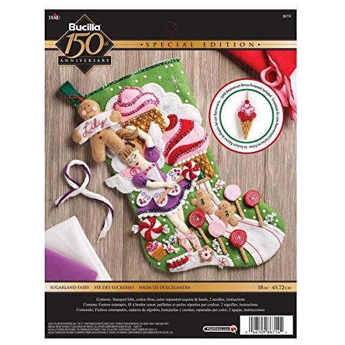 (Bucilla 86714 Sugarland Fairy Stocking Kit)