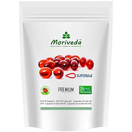 Aceite de Krill cápsulas, SUPERBA Premium 100% puro Aceite de krill - Omega 3