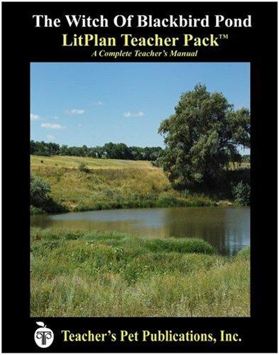 Amazon.com: The Witch of Blackbird Pond LitPlan - A Novel Unit ...