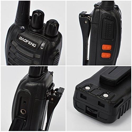 6 packs of Baofeng 888s Two Way Radio UHF 400-470MHZ Walkie Talkie Portable Ham Radio with 1 pcs 6-way Multi Unit Battery Charger for Baofeng- 888S BF-777S BF-666S Retevis H-777 by TWAYRDIO (Image #5)