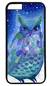 Cute owl animal cartoon Easter Thanksgiving Masterpiece Limited Design PC Black Case for iphone 6 by Cases & Mousepads