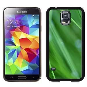 New Beautiful Custom Designed Cover Case For Samsung Galaxy S5 I9600 G900a G900v G900p G900t G900w With Grass Drops Phone Case