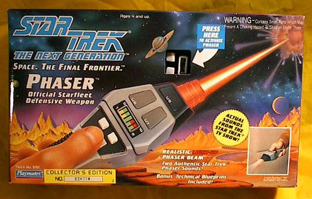 Star Trek Next Generation Electronic Phaser