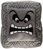 Nintendo Official Super Mario Thwomp Cushion/Pillow Plush, 12