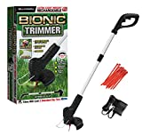 Bell+Howell Bionic Trimmer Handheld, Cordless Rechargeable Garden Grass and Weed String Cutter with Detachable Head for Portable use As Seen On TV