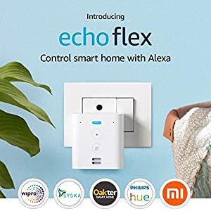 Echo Flex–  Plug-in Echo for smart home control
